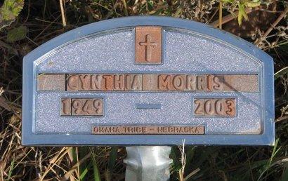 MORRIS, CYNTHIA - Thurston County, Nebraska | CYNTHIA MORRIS - Nebraska Gravestone Photos