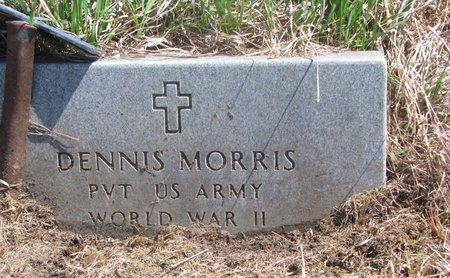 MORRIS, DENNIS - Thurston County, Nebraska | DENNIS MORRIS - Nebraska Gravestone Photos