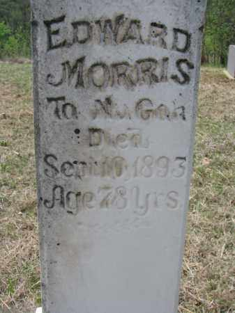 MORRIS, EDWARD (CLOSEUP) - Thurston County, Nebraska | EDWARD (CLOSEUP) MORRIS - Nebraska Gravestone Photos