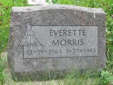 MORRIS, EVERETTE - Thurston County, Nebraska   EVERETTE MORRIS - Nebraska Gravestone Photos