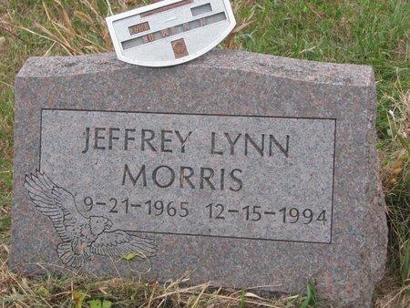 MORRIS, JEFFREY LYNN - Thurston County, Nebraska   JEFFREY LYNN MORRIS - Nebraska Gravestone Photos