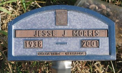 MORRIS, JESSE J. - Thurston County, Nebraska | JESSE J. MORRIS - Nebraska Gravestone Photos