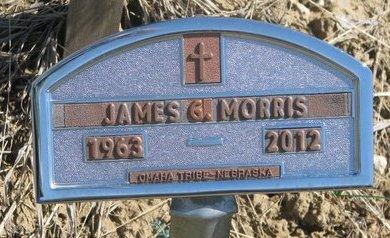 MORRIS, JAMES G. - Thurston County, Nebraska   JAMES G. MORRIS - Nebraska Gravestone Photos
