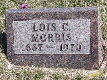 MORRIS, LOIS C. - Thurston County, Nebraska | LOIS C. MORRIS - Nebraska Gravestone Photos