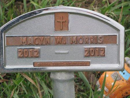 MORRIS, MACYN W. - Thurston County, Nebraska | MACYN W. MORRIS - Nebraska Gravestone Photos