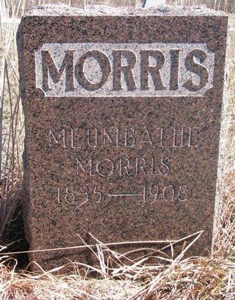 MORRIS, MEUMBATHE - Thurston County, Nebraska | MEUMBATHE MORRIS - Nebraska Gravestone Photos