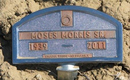 MORRIS, MOSES SR. - Thurston County, Nebraska | MOSES SR. MORRIS - Nebraska Gravestone Photos