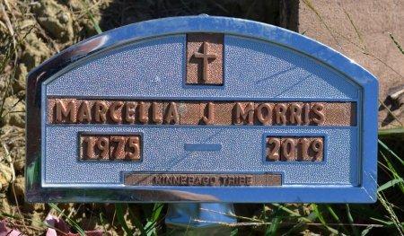 MORRIS, MARCELLA J. - Thurston County, Nebraska   MARCELLA J. MORRIS - Nebraska Gravestone Photos