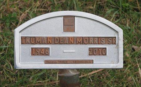 MORRIS, TRUMAN DEAN SR. - Thurston County, Nebraska   TRUMAN DEAN SR. MORRIS - Nebraska Gravestone Photos