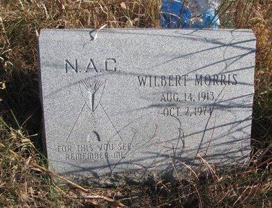 MORRIS, WILBERT - Thurston County, Nebraska | WILBERT MORRIS - Nebraska Gravestone Photos