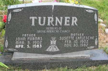TURNER, SUSETTE - Thurston County, Nebraska | SUSETTE TURNER - Nebraska Gravestone Photos