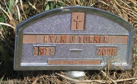 TURNER, RYAN J. - Thurston County, Nebraska | RYAN J. TURNER - Nebraska Gravestone Photos