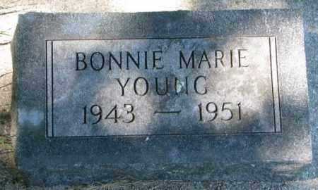 YOUNG, BONNIE MARIE - Thurston County, Nebraska   BONNIE MARIE YOUNG - Nebraska Gravestone Photos