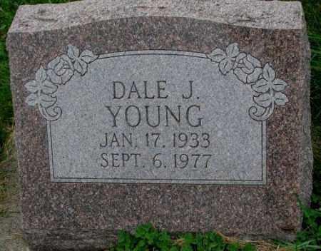 YOUNG, DALE J. - Thurston County, Nebraska   DALE J. YOUNG - Nebraska Gravestone Photos