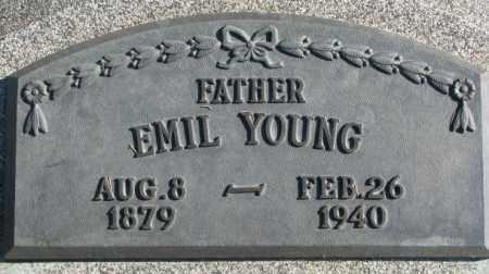 YOUNG, EMIL - Thurston County, Nebraska   EMIL YOUNG - Nebraska Gravestone Photos