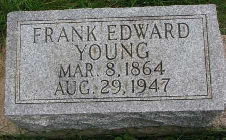 YOUNG, FRANK EDWARD - Thurston County, Nebraska | FRANK EDWARD YOUNG - Nebraska Gravestone Photos