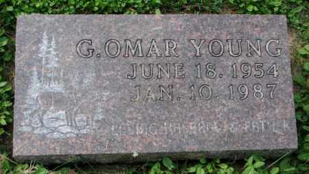 YOUNG, G. OMAR - Thurston County, Nebraska | G. OMAR YOUNG - Nebraska Gravestone Photos