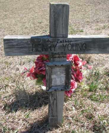 YOUNG, HENRY - Thurston County, Nebraska | HENRY YOUNG - Nebraska Gravestone Photos