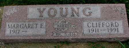 YOUNG, MARGARET E. - Thurston County, Nebraska | MARGARET E. YOUNG - Nebraska Gravestone Photos