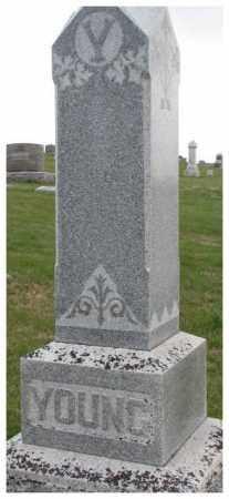 YOUNG, PLOT - Thurston County, Nebraska | PLOT YOUNG - Nebraska Gravestone Photos