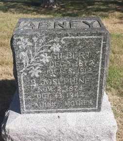 ABNEY, GILBERT - Valley County, Nebraska | GILBERT ABNEY - Nebraska Gravestone Photos