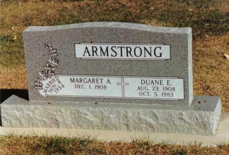 ARMSTRONG, DUANE E - Valley County, Nebraska | DUANE E ARMSTRONG - Nebraska Gravestone Photos