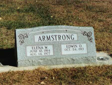 ARMSTRONG, ELENA WILLAMAE - Valley County, Nebraska | ELENA WILLAMAE ARMSTRONG - Nebraska Gravestone Photos