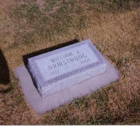 ARMSTRONG, WILLIAM JAMES - Valley County, Nebraska | WILLIAM JAMES ARMSTRONG - Nebraska Gravestone Photos