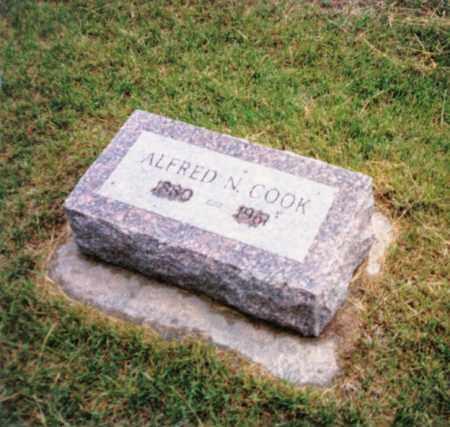 COOK, ALFRED NEWTON - Valley County, Nebraska | ALFRED NEWTON COOK - Nebraska Gravestone Photos