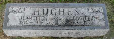 HUGHES, JEANNET - Valley County, Nebraska | JEANNET HUGHES - Nebraska Gravestone Photos