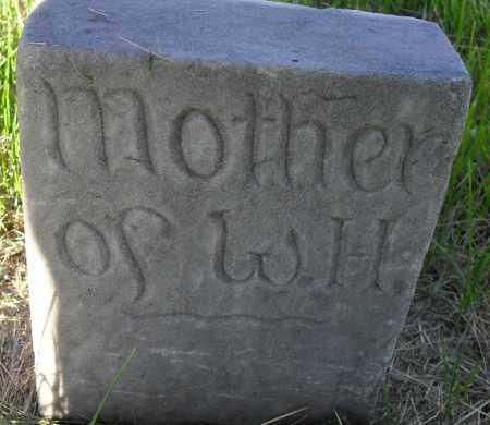 HUNT, MOTHER - Valley County, Nebraska | MOTHER HUNT - Nebraska Gravestone Photos