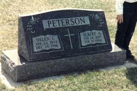 PETERSON, ALBERT ARTHUR - Valley County, Nebraska | ALBERT ARTHUR PETERSON - Nebraska Gravestone Photos