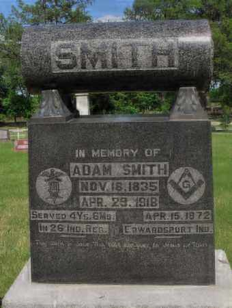 SMITH, ADAM - Valley County, Nebraska   ADAM SMITH - Nebraska Gravestone Photos