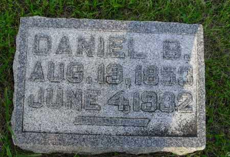 SMITH, DANIEL B - Valley County, Nebraska   DANIEL B SMITH - Nebraska Gravestone Photos