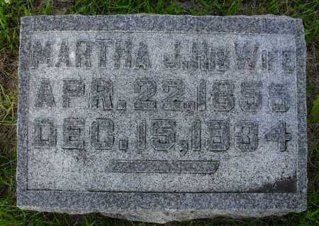 SMITH, MARTHA J - Valley County, Nebraska | MARTHA J SMITH - Nebraska Gravestone Photos