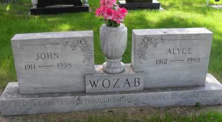 WOZAB, JOHN - Valley County, Nebraska   JOHN WOZAB - Nebraska Gravestone Photos
