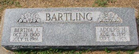 BENJES BARTLING, BERTHA A. - Washington County, Nebraska | BERTHA A. BENJES BARTLING - Nebraska Gravestone Photos