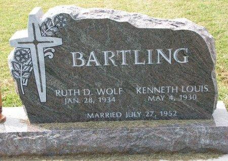 WOLF BARTLING, RUTH D. - Washington County, Nebraska | RUTH D. WOLF BARTLING - Nebraska Gravestone Photos