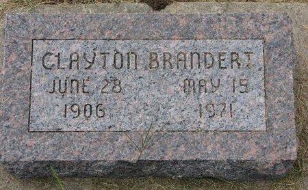 BRANDERT, CLAYTON - Washington County, Nebraska | CLAYTON BRANDERT - Nebraska Gravestone Photos