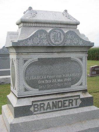 FLIEHE BRANDERT, ELISABETH - Washington County, Nebraska | ELISABETH FLIEHE BRANDERT - Nebraska Gravestone Photos