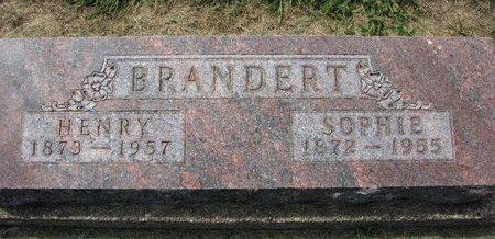 KUHLS BRANDERT, SOPHIE - Washington County, Nebraska | SOPHIE KUHLS BRANDERT - Nebraska Gravestone Photos