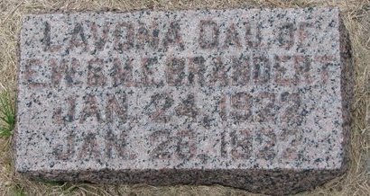 BRANDERT, LAVONA - Washington County, Nebraska | LAVONA BRANDERT - Nebraska Gravestone Photos