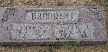 BRANDERT, CLARENCE H. - Washington County, Nebraska | CLARENCE H. BRANDERT - Nebraska Gravestone Photos