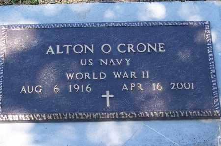CRONE, ALTON O. - Washington County, Nebraska | ALTON O. CRONE - Nebraska Gravestone Photos