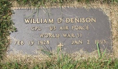 DENISON, WILLIAM D. (MILITARY) - Washington County, Nebraska   WILLIAM D. (MILITARY) DENISON - Nebraska Gravestone Photos