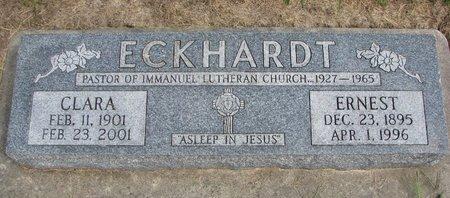 ECKHARDT, CLARA - Washington County, Nebraska | CLARA ECKHARDT - Nebraska Gravestone Photos