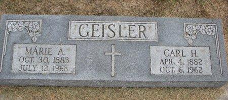 NIEBUHR GEISLER, MARIE ANNA - Washington County, Nebraska | MARIE ANNA NIEBUHR GEISLER - Nebraska Gravestone Photos