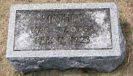 HADAN ?, MOTHER - Washington County, Nebraska   MOTHER HADAN ? - Nebraska Gravestone Photos
