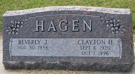 HAGEN, CLAYTON H. - Washington County, Nebraska | CLAYTON H. HAGEN - Nebraska Gravestone Photos