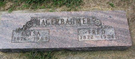 HAGERBAUMER, ELISA - Washington County, Nebraska   ELISA HAGERBAUMER - Nebraska Gravestone Photos